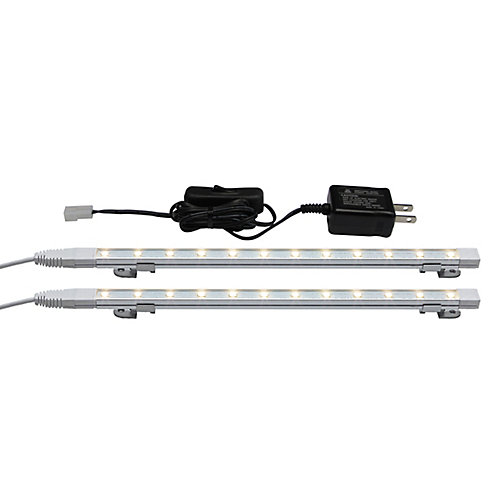 24-inch Enviro Ultra Slim LED Strip Kit with On Off Switch 3000K