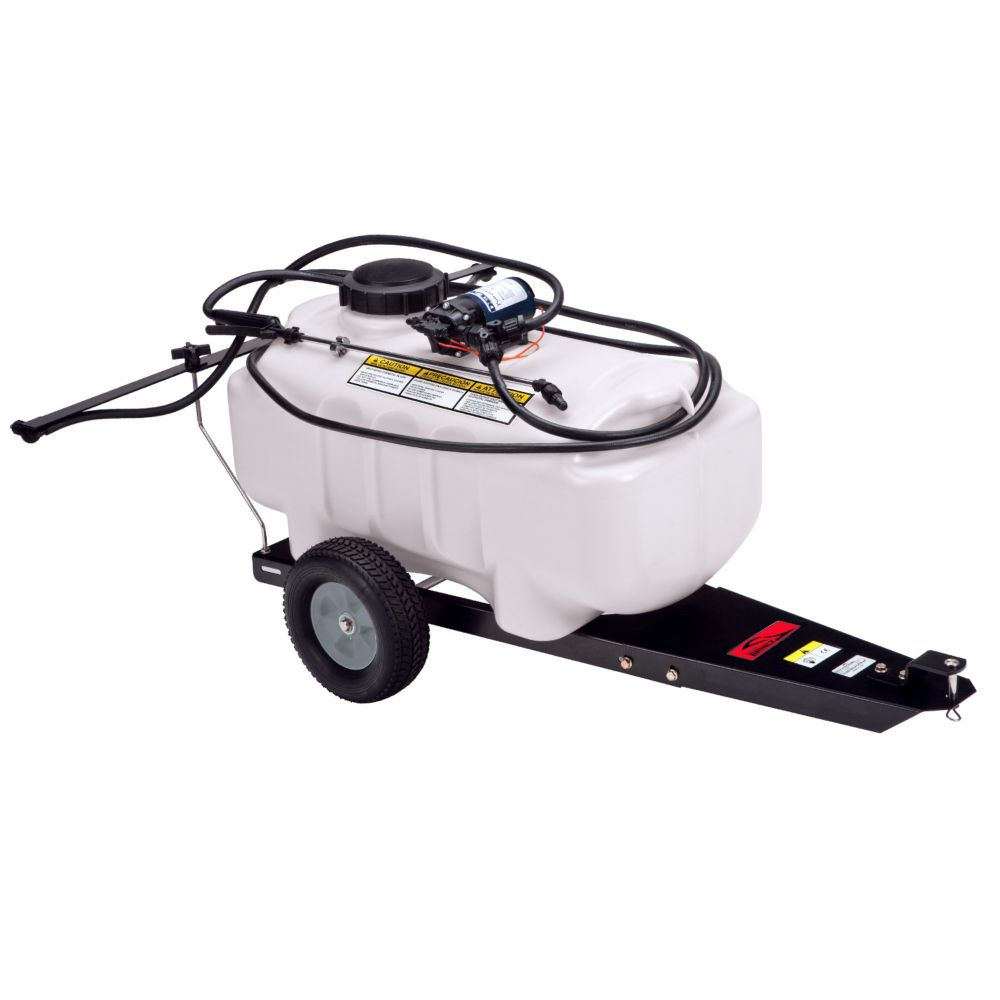 Brinly Hardy 25 Gal Tow Behind Lawn And Garden Sprayer