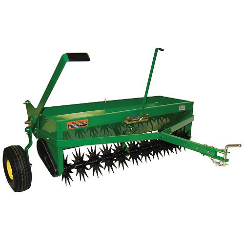 40-inch Tow-Behind Combination Aerator-Spreader
