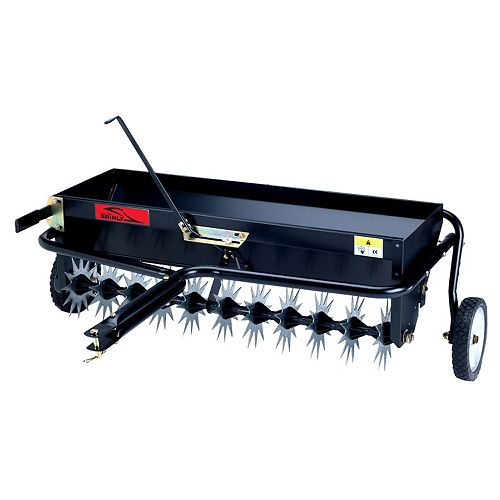 Brinly-Hardy 40 inches Tow-Behind Combination Aerator-Spreader
