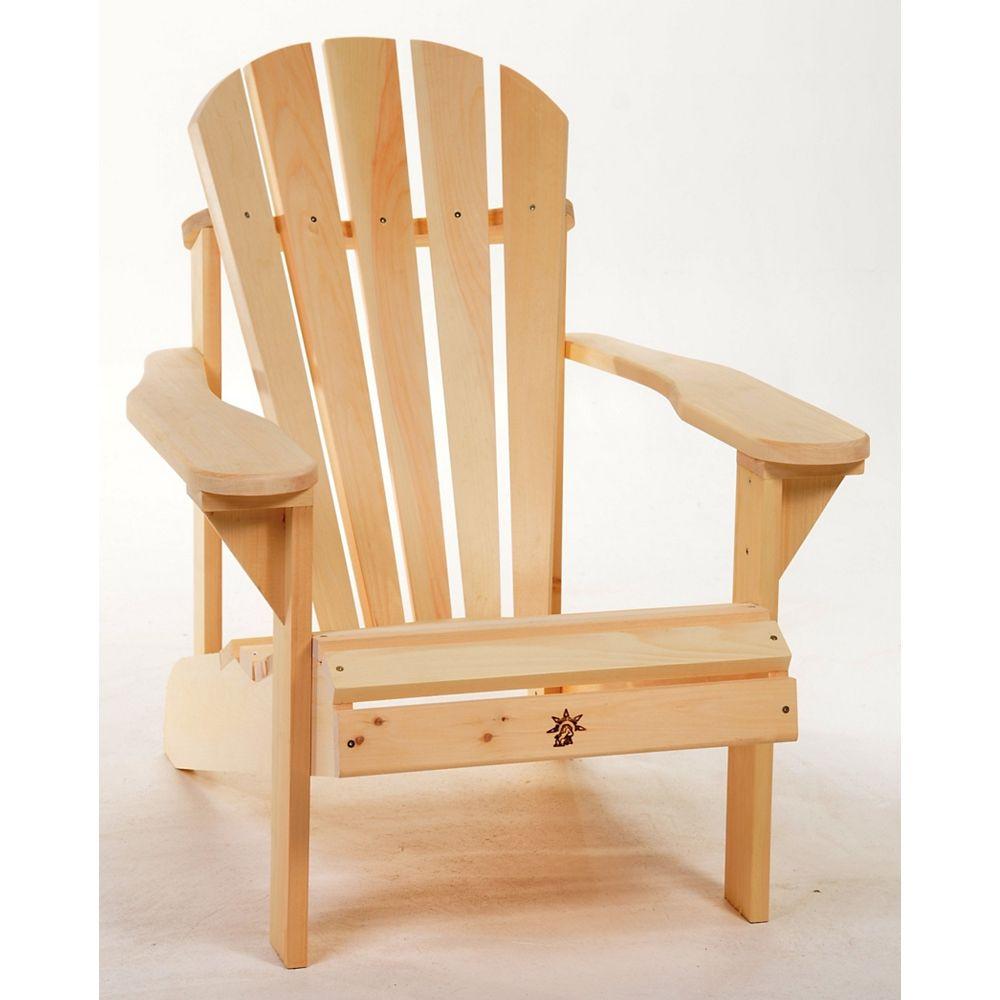 HDG Muskoka Patio Chair - Unfinished White Pine