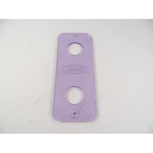 Under-Counter Repair Plate and Faucet Stabilizer 4 Inch