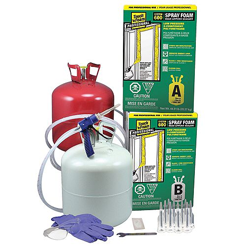 System 600 2-Component Spray Foam Insulation Kit