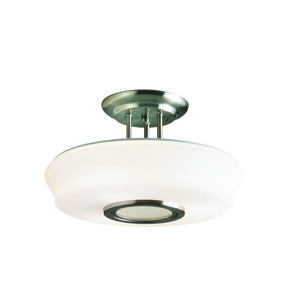Eurofase Semi-Plafonnier à 3 Lumières, Collection Merak
