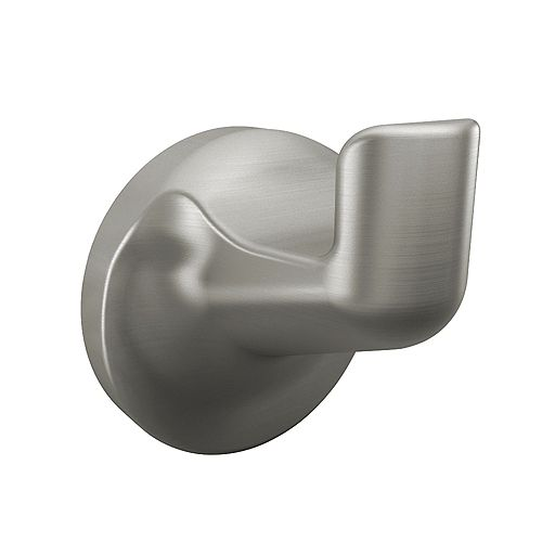 Aspen Brushed Nickel Robe Hook