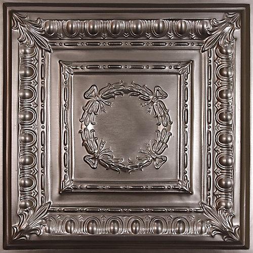 Empire Faux Tin Ceiling Tile, 2 Feet x 2 Feet Lay-in or Glue up
