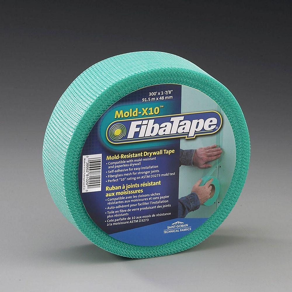 FibaTape Mold-X10 Mold Resistant Drywall Tape