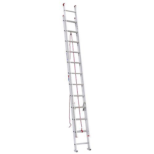 Aluminum Extension Ladder Grade 3 (200 lb. Load Capacity) - 24 Feet