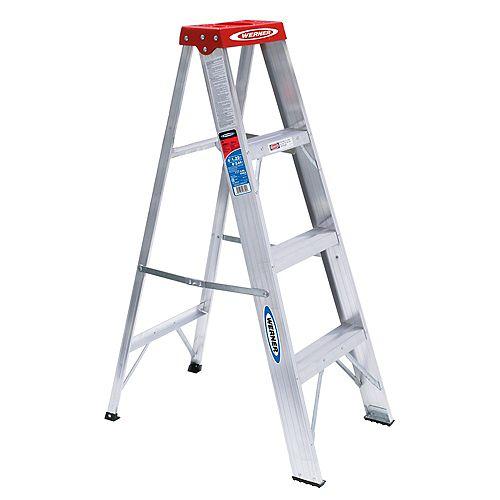 Aluminum Stepladder Grade 3 (200 lb. Load Capacity) - 4 Feet