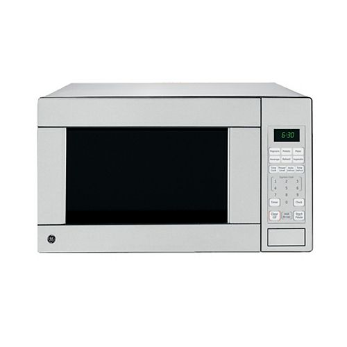 GE 1.1 cu ft Countertop Microwave Oven - JES1140STC