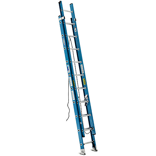 fibreglass Extension Ladder Grade 1 (250 lb. Load Capacity) - 20 Feet