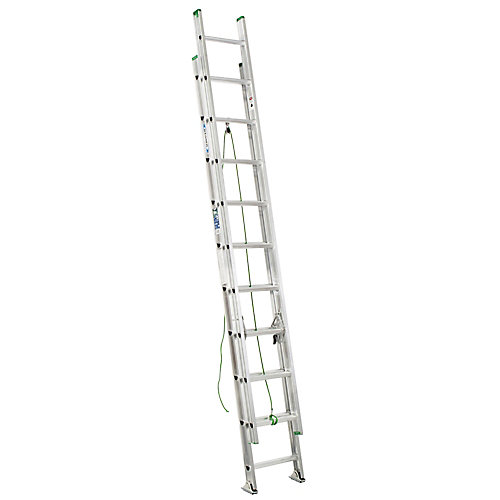 Aluminum Extension Ladder Grade 2 (225 lb. Load Capacity) - 20 Feet