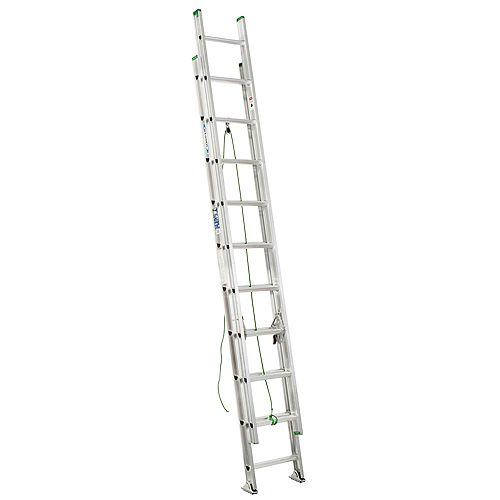Aluminum Extension Ladder Grade 2 (225 lb. Load Capacity) - 20 Feet