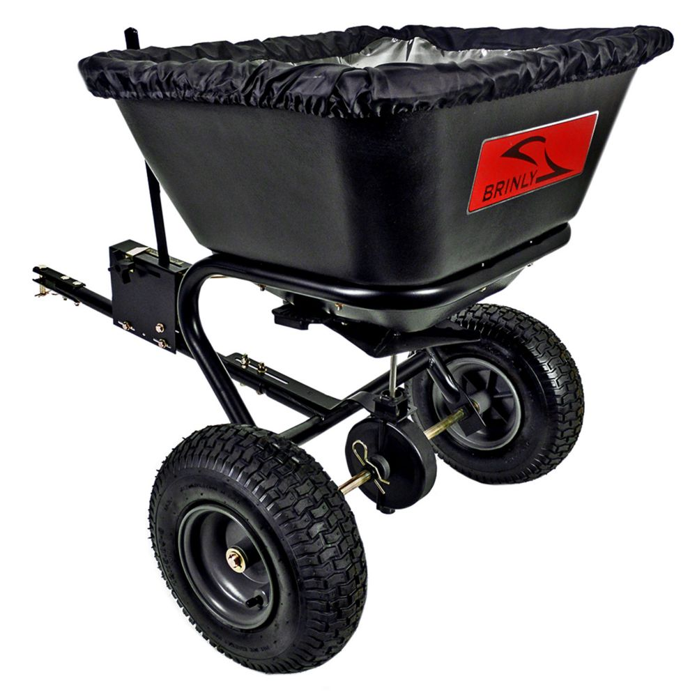 125 lb. Tow-Behind Broadcast Spreader