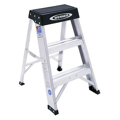 Aluminum Stepladder Grade 1A (300 lb. Load Capacity) - 2 Feet
