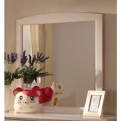 Cape Cod miroir commode - Blanc