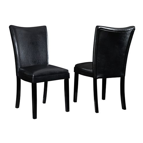 Vector-Side Chair-Black- (Set of 2)