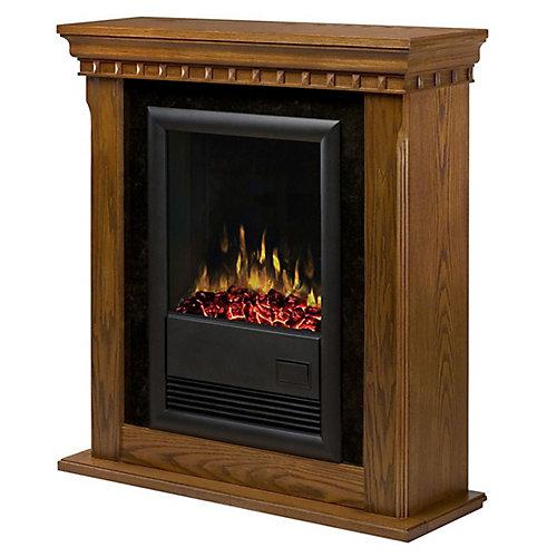 Traditional Compact Fireplace - Warm Oak