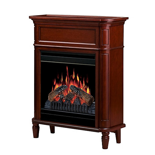 Foyer Fireplace - Cherry
