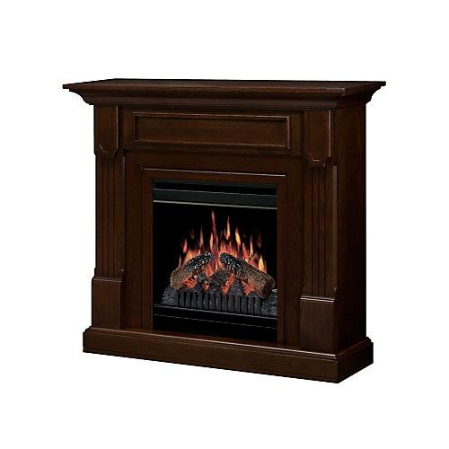 Knock Down Compact Fireplace - Mocha