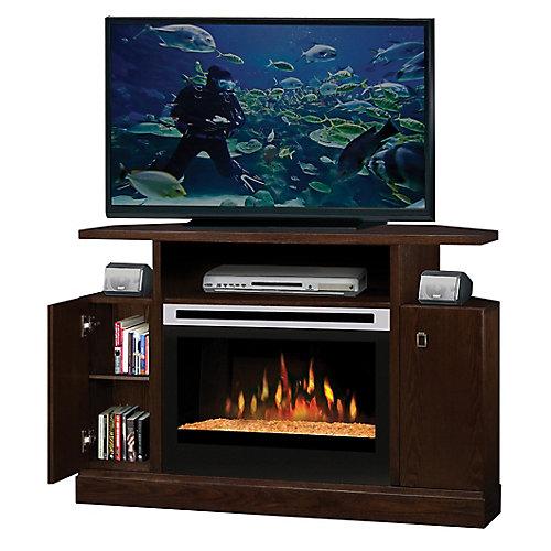 Fireplace Kit, Corner Entertainment Mocha, Fireplace 6905390500