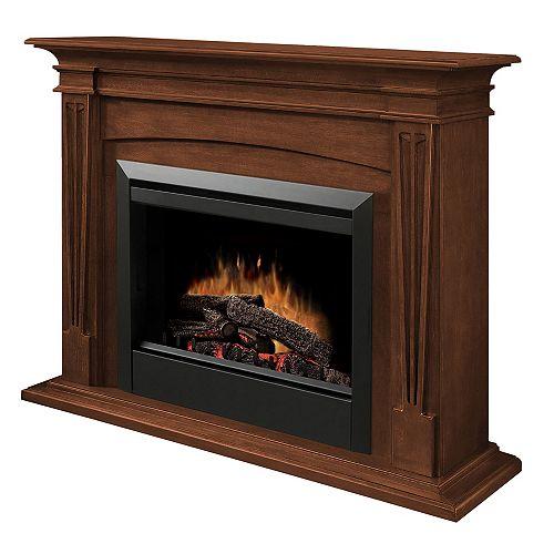 Intermediate Fireplace - Burnished Walnut