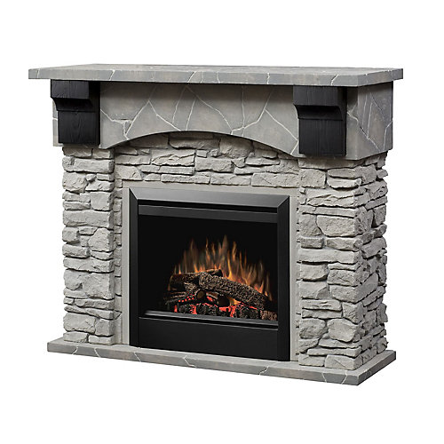 Sutton Intermediate Fireplace - Stone