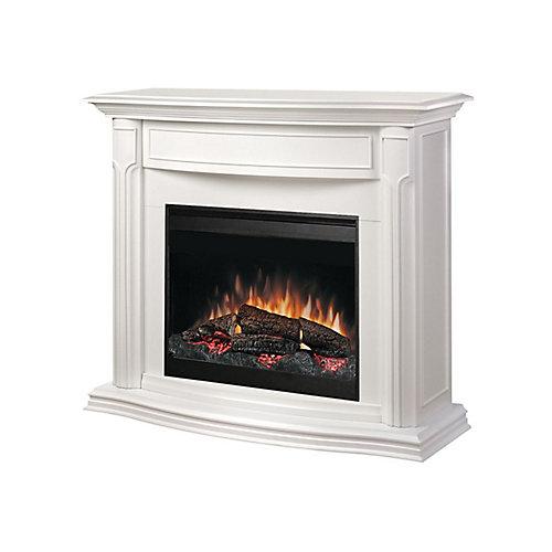 Addison Full Size Fireplace - White