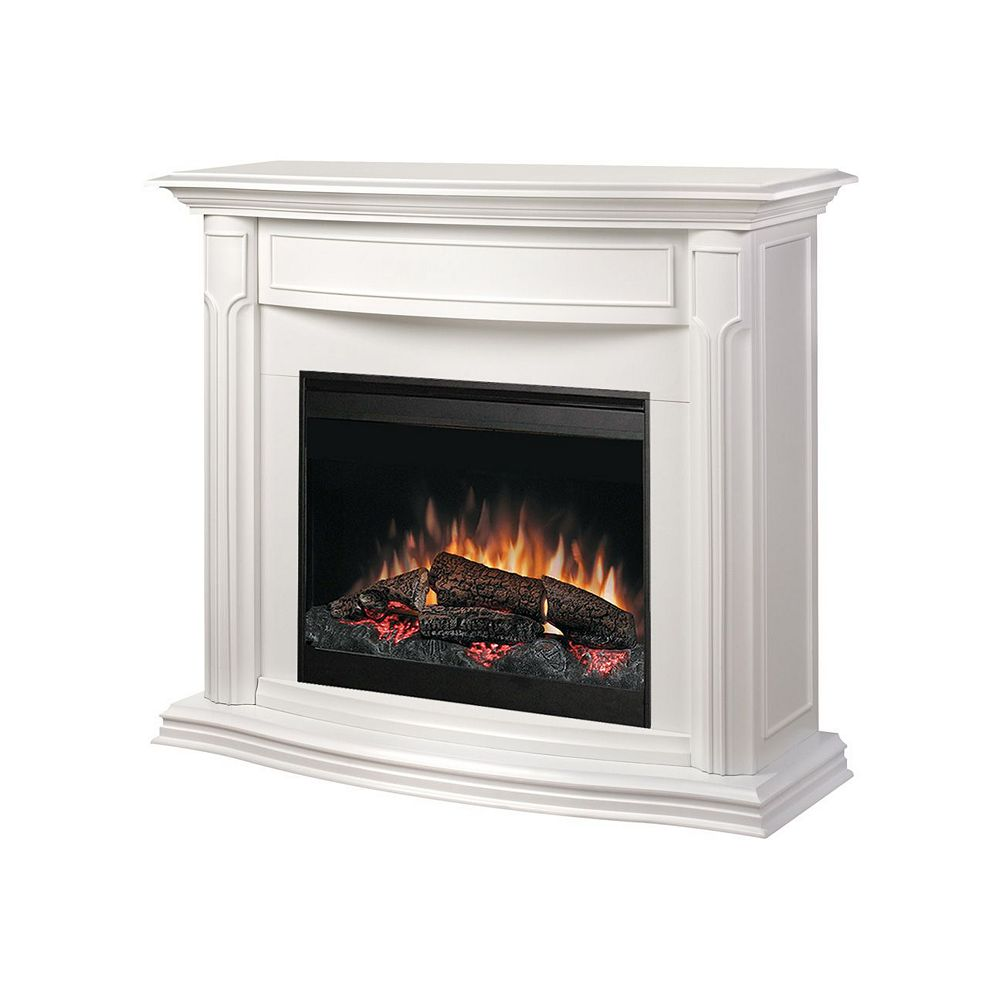 Dimplex Addison Full Size Fireplace - White
