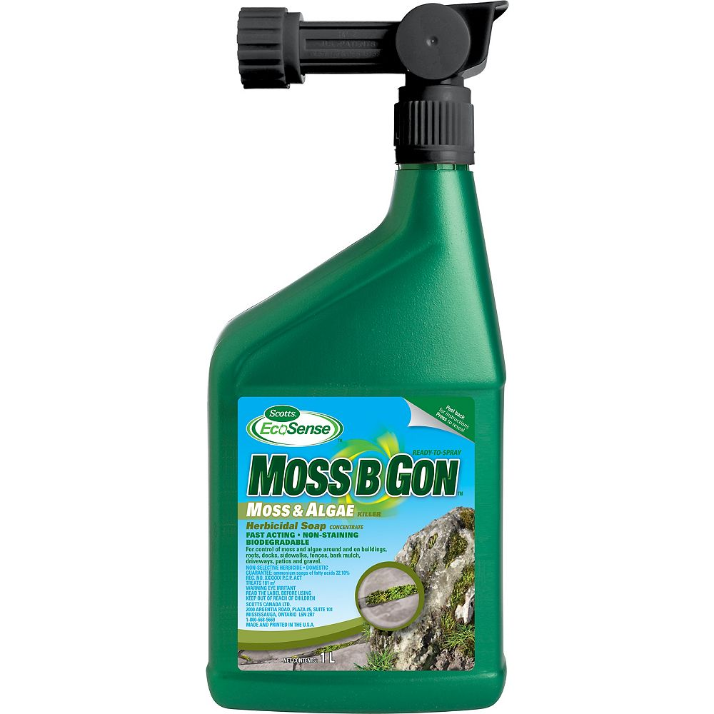 Ecosense Moss B Gon 1l Ready To Spray The Home Depot Canada