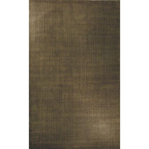 Carpette d'intérieur, 5 pi x 7 pi, style contemporain, rectangulaire, lisières variées