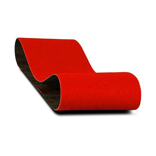 3-inch x 21-inch Fine Finish 120 Grit Sand Paper Belt for Wood/Metal/Plastic Sanding (5 Pack)