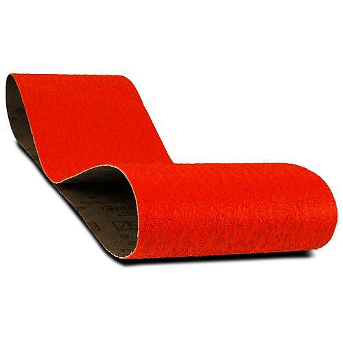 4-inch x 36-inch Coarse Finish 50 Grit Sand Paper Belt for Wood/Metal/Plastic Sanding