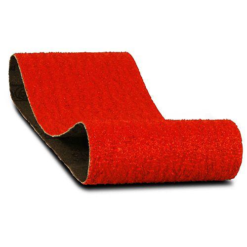 3-inch x 18-inch Coarse Finish 50 Grit Sand Paper Belt for Wood/Metal/Plastic Sanding (2 Pack)