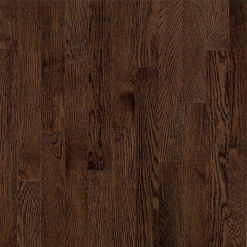 AO Oak Barista Brown 5/16-inch Thick x 2 1/4-inch W Hardwood Flooring (40 sq. ft. / case)