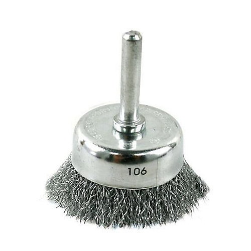 Pro Wire Cup Brush 2 in.