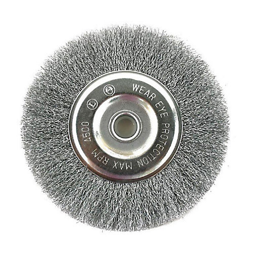 Crimped Wire Wheel 3 in.