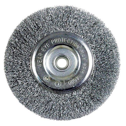 Bench Fine Crimped Wire Wheel