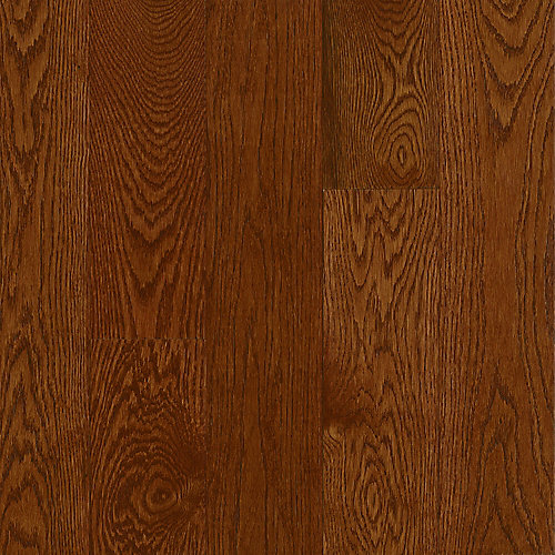 AO Oak Deep Russet 5/16-inch Thick x 2 1/4-inch W Hardwood Flooring (40 sq. ft. / case)
