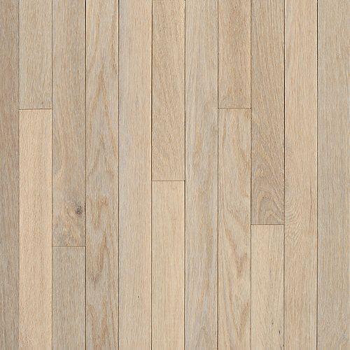 AO Oak Sugar White 5/16-inch Thick x 2 1/4-inch W Hardwood Flooring (40 sq. ft. / case)