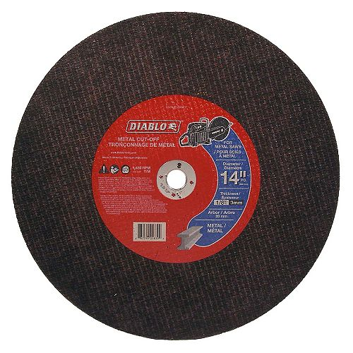 High-Speed Metal Cut-Off Disc
