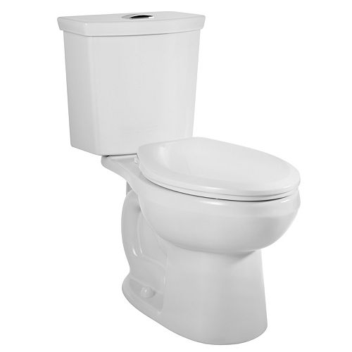 Cadet 3 2-Piece 6.0 LPF 1.59 GPF Dual Flush Elongated Bowl Toilet in White