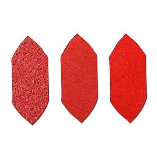 Ensemble de pointes abrasives 3 x 1-1/8 Grains assorties