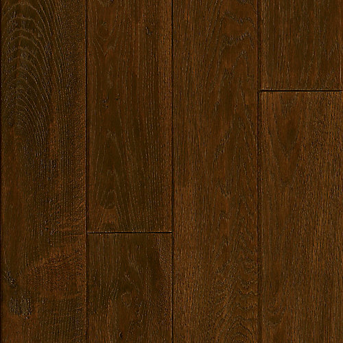 "5"" X 3/4"" Hickory Forrested Hill Handscraped Solid Wood Floor (23.5 sq. ft./case)"