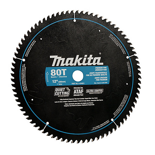 """12"""" x 80T CT Smooth Cut Mitre Saw Blade"""
