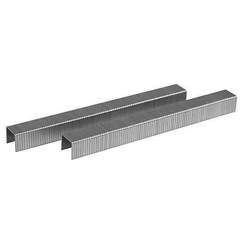 Agrafes galvanisées 3/8 po (10 mm) x 3/8 po (5040/boîte)