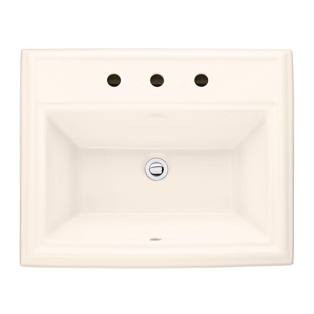 American Standard Évier de salle de bain à encastrer dans le linge de maison