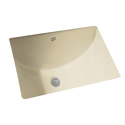 American Standard Studio Salle de bain rectangulaire sous le lavabo en lin