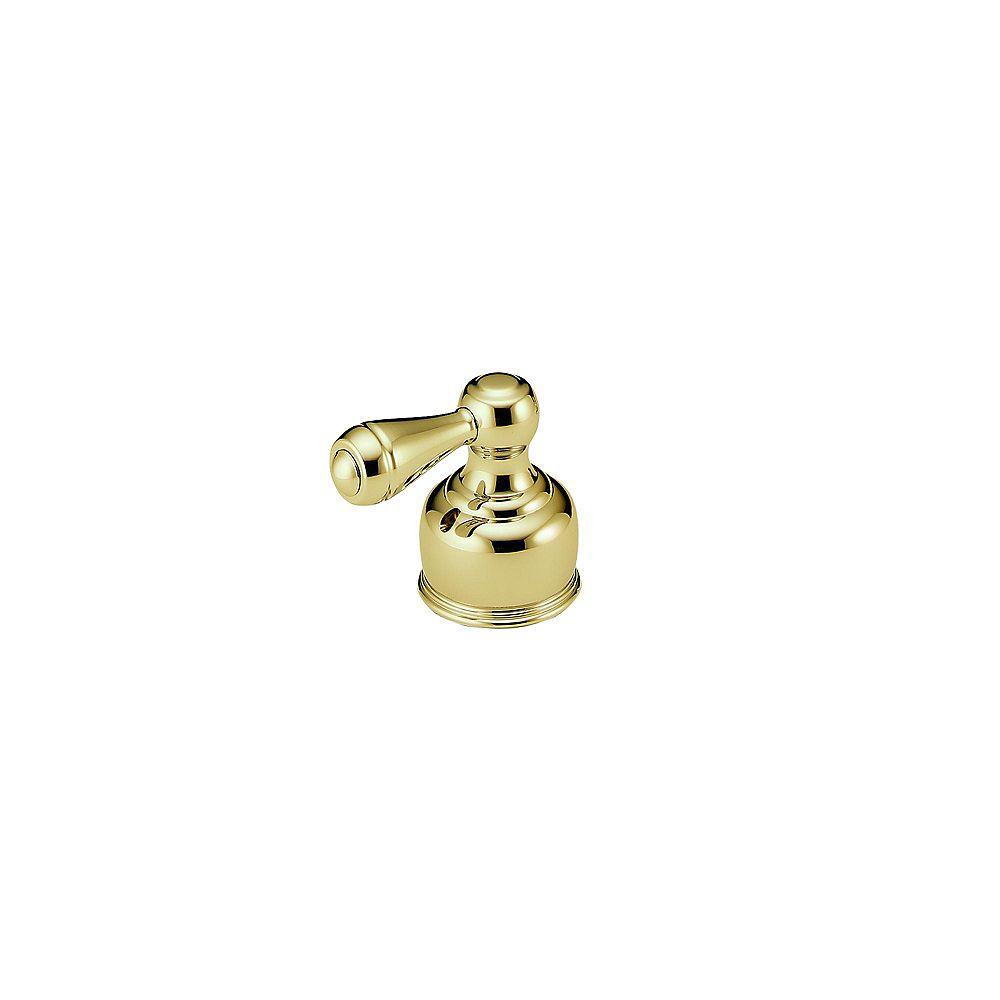 Delta Traditional Lever Handle in Polished Brass for Handshower Diverter Valves