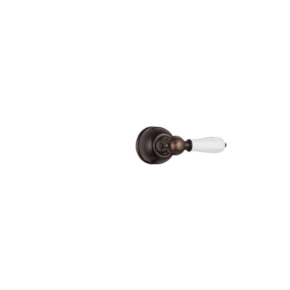 Delta Manette levier traditionnelle en laiton poli pour les séries de robinets de douche 13/14